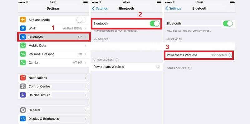 iPhone stuck in headphone mode connect via bluetooth