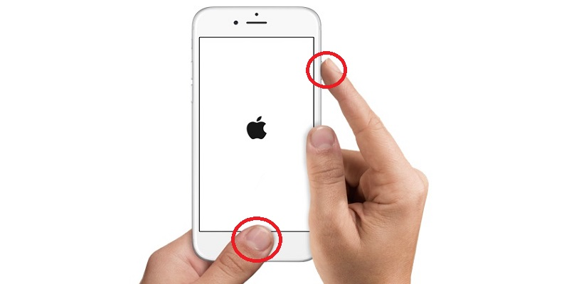 iphone camera shaking restart iphone using home button