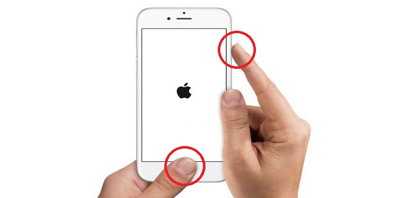 iphone wont turn off force restart
