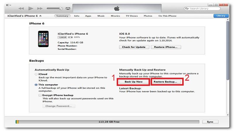 iphone wont turn off itunes restore using itunes