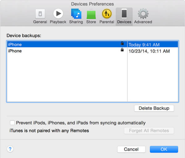 itunes backup password check encrypted itunes backup password