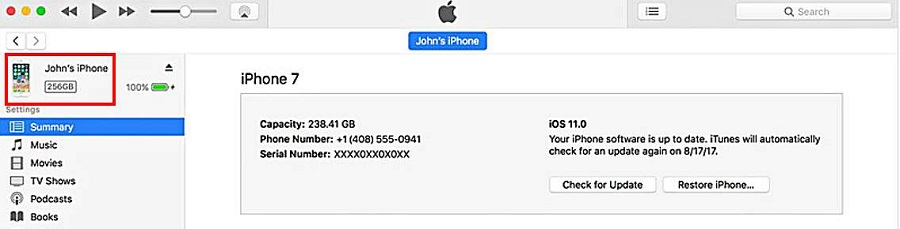 recover deleted messages itunes discover