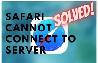 safari cant connect to server feature