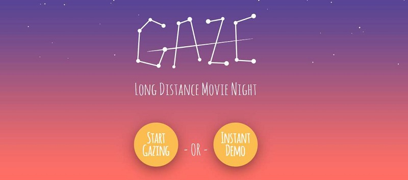 watch movies together online gaze