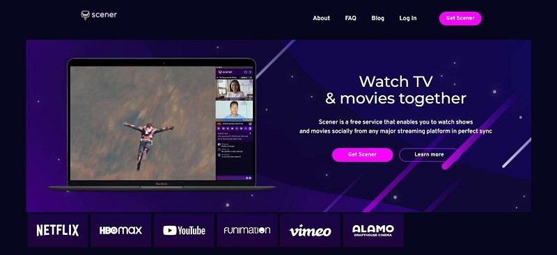 watch movies together online screner