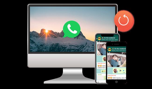 Backup WhatsApp Data to Computer