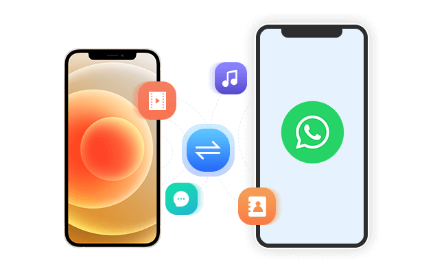Transfer WhatsApp Data between devices