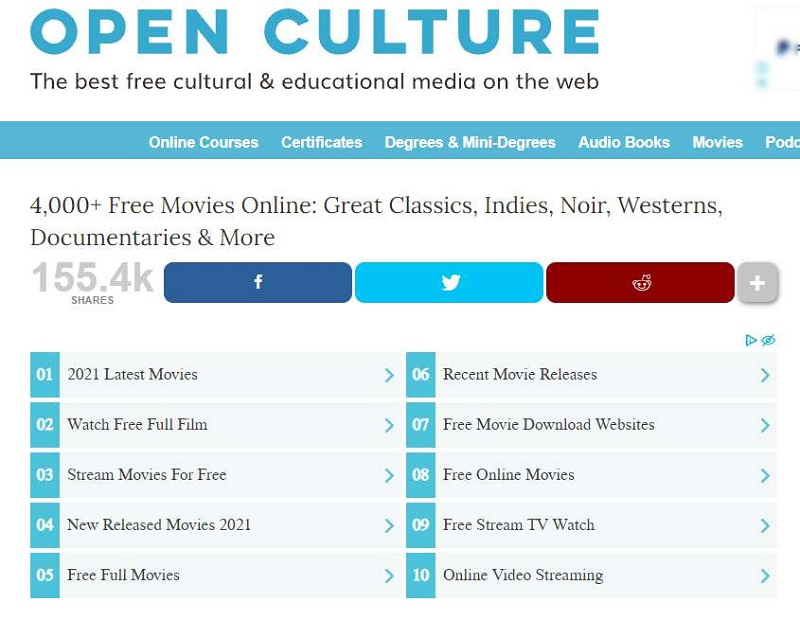 download hd movies openculture