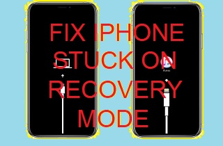 feature iphone stuck on recovery mode