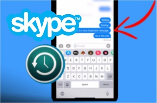 How to Recover Deleted Skype Messages on iPhone