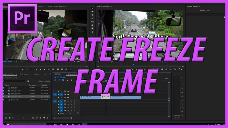 freeze frame in premiere pro introduction