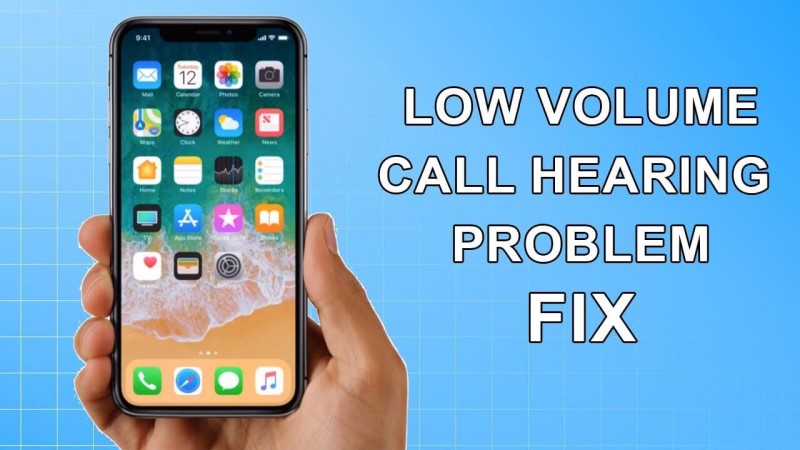 iphone call volume low why
