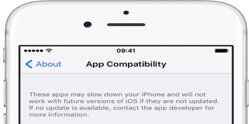 iphone keeps turning off incompatible software