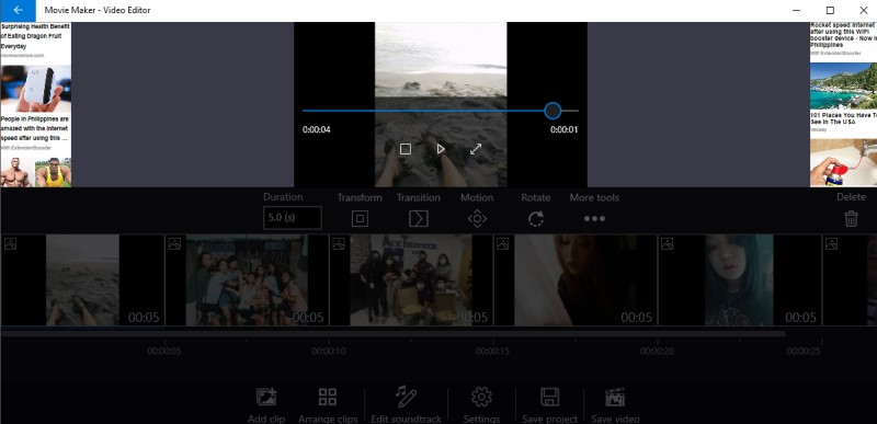 make video from pictures movie maker