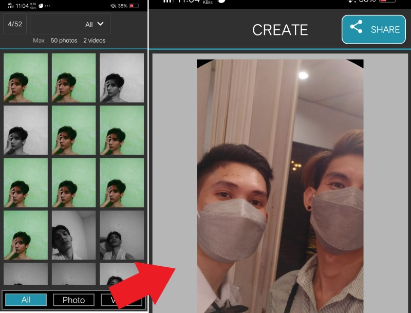 make video from pictures picplaypost