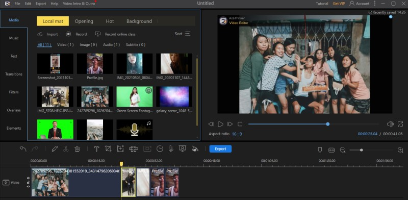 make video from pictures ve process