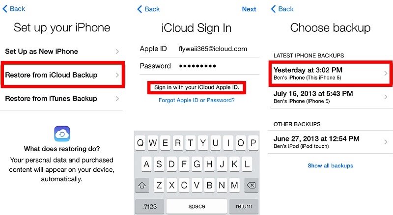 recover deleted snapchat messages icloud 2